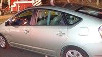 Two medics injured after car side swipes ambulance