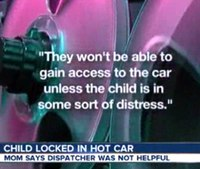 Fla. dispatcher resigns after not sending help to baby locked in car