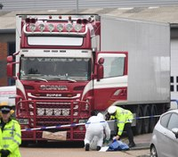 39 people found dead in truck in southeast England