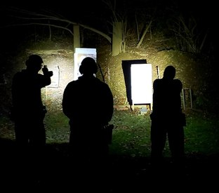 Training Day: How to set up a low light training drill