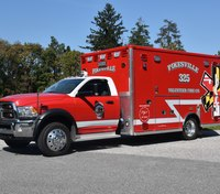 Md. volunteer EMT has lived at fire station since start of pandemic