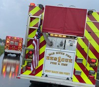 1 dead after semitrailer hits medic unit in Ohio