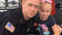 FF daughter, 6, wakes family to escape fire