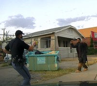 Police: Alleged thief with hatchet attacks Texas cop