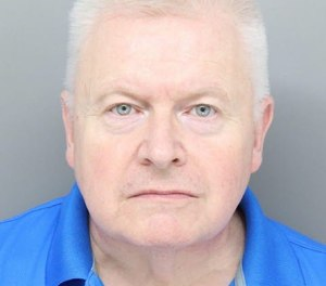 Paramedic Mark E. Taylor, 60, is accused of stealing oxycodone pills while on duty at the Hamilton County Justice Center. (Photo/Hamilton County Sheriff's Office)