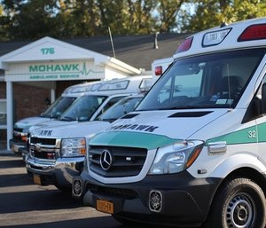 Mohawk Ambulance Service announced that the agency is implementing the terms of its final proposal and increasing starting hourly pay for EMTs from$12.51 to $14.75. (Photo/MAS)