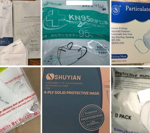 Some of the masks acquired and distributed by the state, all of which tested below the standard N95 masks preferred for protection from coronavirus. (Photo/TNS)