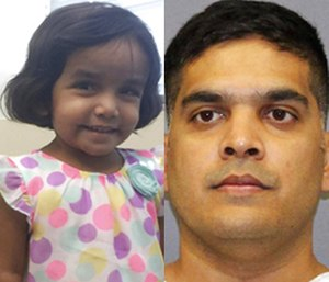 Sherin Mathew, 3, was reported missing by her father, Wesley Mathews, on Oct. 7. (Photo/AP)