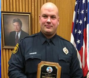 Pictured is Officer Timothy Matson. (Photo/Facebook)