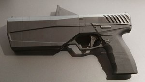 At this writing, the projected price of the Maxim 9 is approximately the same as a good pistol plus a suppressor price.