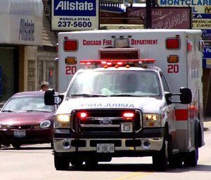 The mayor of Chicago announced an increase in city ambulances, only to have a mayoral challenger up the ante with the promise of a bigger plan. (Photo/YouTube)