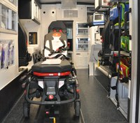 Photo of the Week: Mayo Clinic ambulance focuses on safety