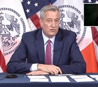 NYC mayor says furloughs, layoffs of first responders 'on the table'