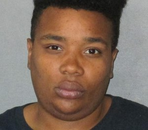 Marissa Mays, 28, was arrested on suspicion of battery of emergency personnel for allegedly punching a firefighter in the back of the head. (Photo/East Baton Rouge Parish Sheriff's Office)