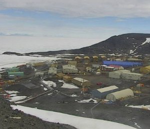 McMurdo Station is the American research base in Antarctica. (Photo/US Arctic Program)