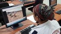 Virtual reality technology used to teach MCI scene command