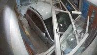 Video: Md. man rams car into police station lobby