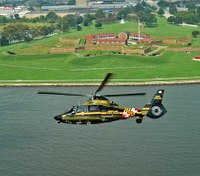 Md. sergeant, pilot injured after laser pointed at helicopter