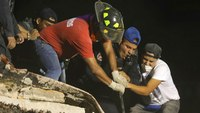 Rescuers dig through rubble after Mexico quake kills hundreds