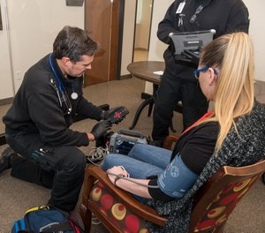 A telemedicine program, like the ETHAN program in Houston, can help your EMS agency bring a doctor on scene to help diagnose and advise patients. (image/Pulsara)