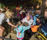 MedStar takes 3 kids with medical needs trick-or-treating