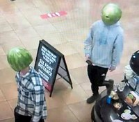 Police: Duo with watermelons on their heads robbed convenience store