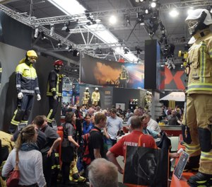 INTERSCHUTZ, the world-renowned fire trade show held every five years in Hannover, Germany, will now have a U.S-equivalent: INTERSCHUTZ USA. (Photo/INTERSCHUTZ 2015)