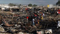 31 dead, dozens hurt after explosion rips fireworks market outside Mexico City