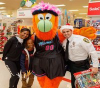 Fla. COs, Miami Heat work to brighten kids' Christmas with shopping spree
