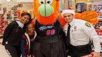 Fla. COs, Miami Heat work to brighten kids' Christmas with shopping spree