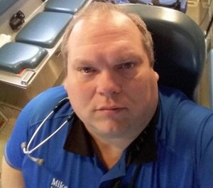 Wamsutter Ambulance Service Paramedic Mike Wilder died in the line of duty from a cardiac arrest while at the scene of a fatal crash.