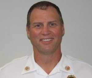 Fire Chief Mike Beyerstedt will keep his job after an internal investigation over a head-butting incident.