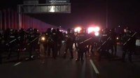 600 arrested during anti-Trump march on Minneapolis highway