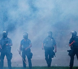 Minneapolis police officers are resigning in the wake of protests, citing a lack of support from department and city leaders. (Photo/TNS)