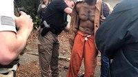 Surveillance video helps police recapture escaped murder suspect