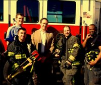 Mo. board: Reinstate firefighters suspended over campaign photo