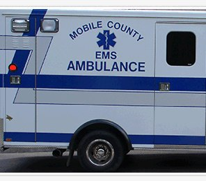 Mobile County EMS is investigating after a patient with a gun stole an ambulance from paramedics who transported him to the hospital on Thursday.