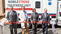 Atlanta ambulance designed to detect, treat strokes during transport