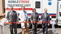 Atlanta ambulance designed to detect, treat strokes during transport