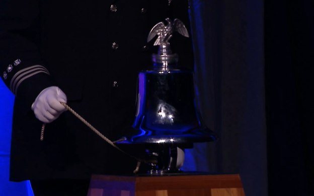 The ringing of the bell for the lost.
