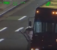 Video released of gunfire-filled pursuit, OIS of UPS truck hijacker