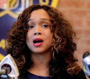 Prosecutors and public defenders have sparred over State's Attorney Marilyn J. Mosby's comments about a list of more than 300 officers identified as having potential integrity issues. (Photo/TNS)