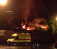 8 firefighters killed in Moscow warehouse fire