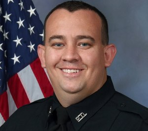 Officer Mike Mosher was fatally wounded when a suspect shot at him during an altercation following a hit-and-run vehicle incident. (Photo/OPPD)