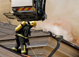 New technology is emerging that may track firefighters under any conditions. (Source iStock)