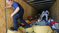 'Mountain' of firefighting gear donated to Alabama VFD