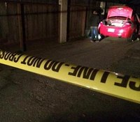 Police: Calif. suspect kills man, drives off with victim still in car