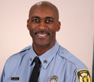 Sgt. Sivad Johnson was a 26-year member of the Detroit Fire Department, as was his father. In 2016, he was honored by the Detroit Public Safety Foundation for saving an unconscious man during a fire, and in 2017 he was awarded the DFD's medal of valor.(Photo/Detroit Fire Department)