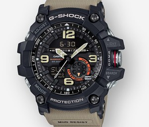 Here are four reasons why the Casio G-Shock Mudmaster GG1000-1A5 is perfectly suited for the unpredictability and intensity of life in the fire service.