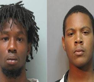Baylon Taylor and Quintylan Richard. (Vernon Parish Sheriff's Office Image)
